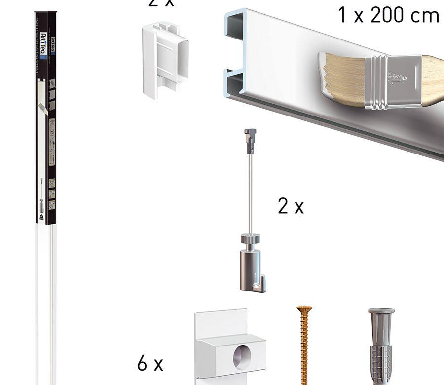 Ophangsystemen-All-in-one pakket artiteq