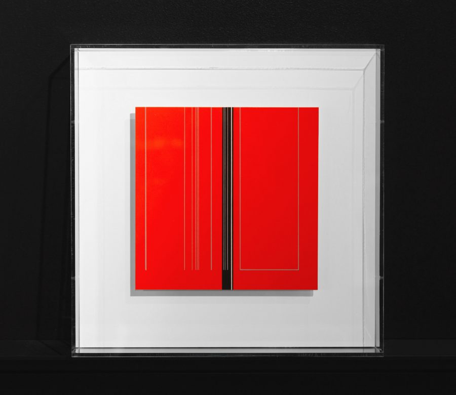 plexi-frame-red-art