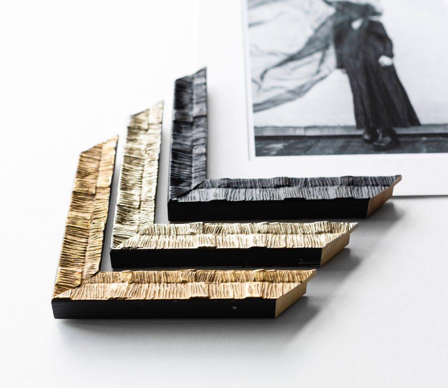 traditionele-kader-goud-zilver-zwart-foto-vrouw